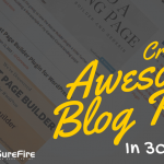 Create an awesome blog page in 30 seconds with Beaver Builder and Genesis
