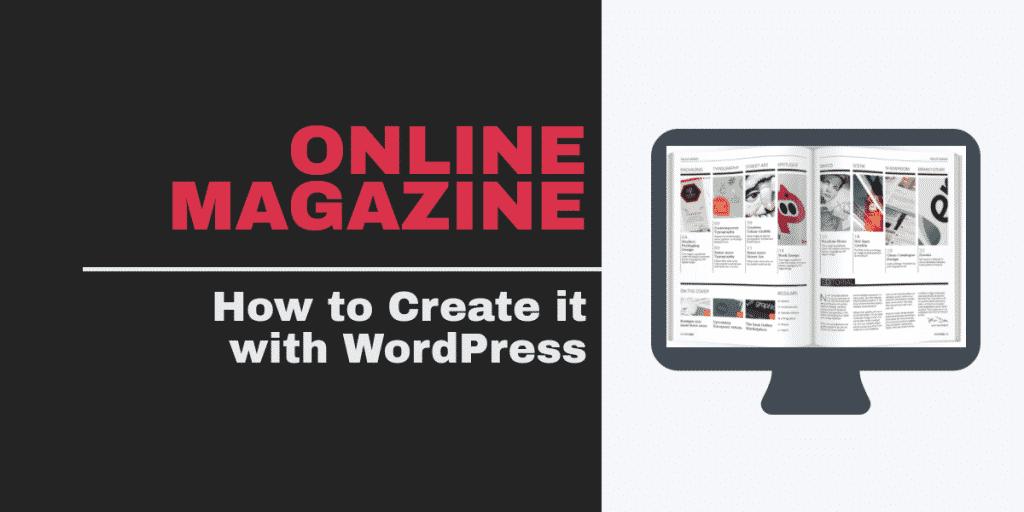 Online Magazine with WordPress